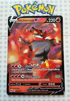 Pokemon card Incineroar V 008/073 HOLO FULL ART Fire Rare Mint Champions path