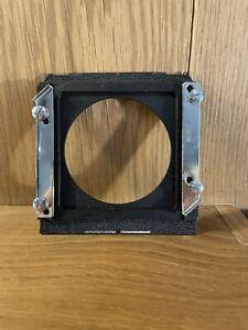 Near Mint Wista 96x99mm Lens Board Adapter For Horseman Board From Japan