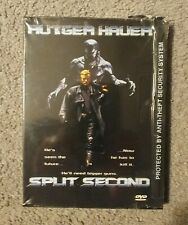 Split Second - Rutger Hauer - 2001 HBO DVD - sealed with some damage to case