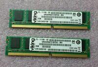 Viking VR5WR567218FEW-MH 15-11108-02 2GB Memory Module Working Pulls - LOT OF 2