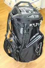 MINT! Sun Mountain C130s Stand Golf Bag Black Three Rounds No Reserve