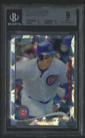 2014 TOPPS CHROME ATOMIC REFRACTOR ANTHONY RIZZO CUBS #5/10 BGS 9 MINT