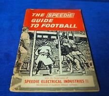 1960's The Speedie Electrical Industries Guide to Football Vintage Australian