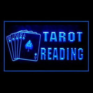 180088 Tarot Reader Psychic Questions Display LED Light Neon Sign