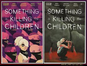 SOMETHING IS KILLING THE CHILDREN #6 (NM/M) #7 (NM) 1ST PRINT SET TYNION NETFLIX