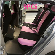 Pink Car Seat Covers for Car Sedan Truck Van Universal Seat Covers Car Styling