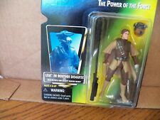 Starwars Leia In Boushh Diquise With Baster Rifle-The Power Of The Force -New
