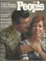 ROCK HUDSON Bob Woodward CAROL BURNETT Carl Bernstein DIANA RIGG 1974 People