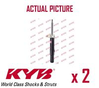 2 x FRONT AXLE SHOCK ABSORBERS PAIR STRUTS SHOCKERS KYB OE QUALITY 335818
