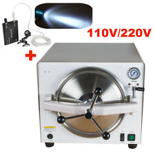 Dental Medical Autoclave Steam Sterilizer Equipment 121℃/ 0.12Mpa + Head light