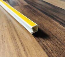 Kabel kanal PRO 15 x 10 mm Decke TV Kabelleiste Wand Boden PVC Länge wählbar
