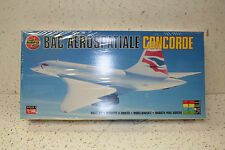 AIRFIX CONCORDE AIR FRANCE + BRITISH AIRWAYS 1:144 SCALE MODEL KIT NO. 06182