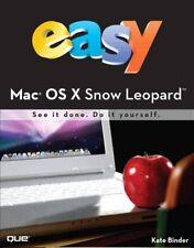 Easy Mac OS X Snow Leopard,Kate Binder