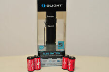 OLIGHT S30 Baton 4 123A SUREFIRE BATTERIES  INCLUDED   Magnetic Flashlight