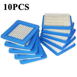 10pcs Air Lawn Mower Filters for Briggs&Stratton 491588 491588S 399959 HQ