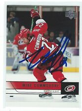 Mike Commodore Signed 2006/07 Upper Deck Card #39
