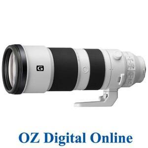 New Sony FE 200-600mm f/5.6-6.3 G OSS Telephoto Lens E-Mount 1 Yr Au Wty
