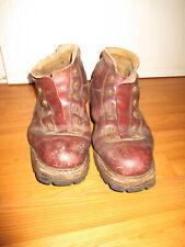 RAR! Paar uralte Skischuhe Leder Sohle geschraubt ca Gr. 46/ von 1947 Schuhe