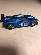 Hot Wheels FORD GT LM 2009 Blue