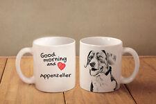 """Appenzeller Sennenhund - ein Becher """"Good Morning and love"""" Subli Dog, CH"""
