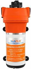 SEAFLO 12V WATER PRESSURE PUMP 4.5GPM  40 PSI Boat/Marine RV 4 Year Warranty!!