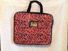 betseyville pink & black padded laptop / tablet. case bag bybetsey johnson