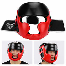 Kid Face Protection Boxing Helmet Head Protective Gear for Taekwondo Training M