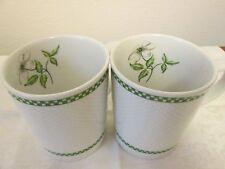 royal worcester cafe fleur squares 2 mugs