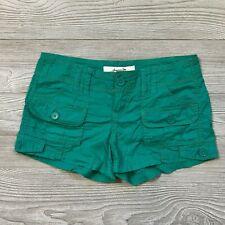 American Rag Green Chino Shorts Pockets Women's 3 A11