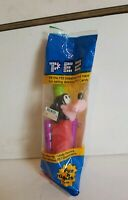 VINTAGE DISNEY GOOFY PEZ DISPENSER BRAND NEW AND SEALED WITH FEET PEZ RARE!