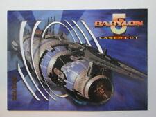 1996 BABYLON 5 - LASER CUT CARD - L1