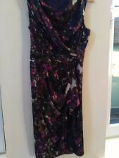 phase eight modern shape floral dress size 8