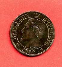 (BR.164) 5 CENTIMES NAPOLÉON III 1854 K BORDEAUX (TTB+)