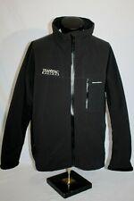 GRUNDENS Fishing Wind / Waterproof Soft Shell Jacket , Mens XXL, Black