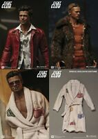 "Fight Club Tyler Durden Brad Pitt 2-Pack Exclusive Bathrobe 12"" Figur Blitzway"