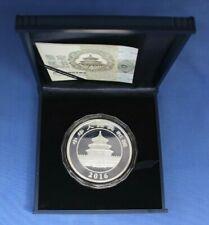 2016 China 150g Silver Panda 50 Yuan coin in Case with COA