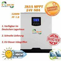 3200W MPPT Solar Wechselrichter 230Vac 24Vdc netzunabhängiger 80A Solar Inverter