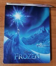 Frozen Steelbook (4k Ultra HD and Blu-ray) Kristen Bell - No Digital