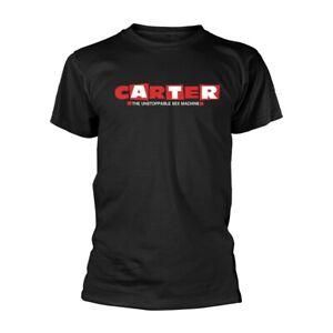 CARTER USM LOGO (BLACK) by CARTER THE UNSTOPPABLE SEX MACHINE T-Shirt