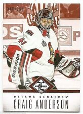12/13 LIMITED BASE #8 Craig Anderson #248/299