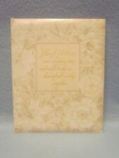 80's Vintage Hallmark Marriage Wedding Memory Record Guest Book Photo Album-New