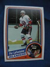 1984/85 O-Pee-Chee R/C Pat LaFontaine Islanders card #129 Hockey NHL $1 S&H