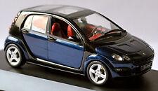 Smart Forfour W 454 2004-06 Jack Black / Star Azul Metalizado 1:43 Schuco