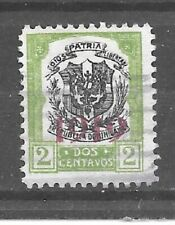 Dominican Republic Stamp- Scott # 219/A25-2c-Canc/H-1919-Overprinted-NG