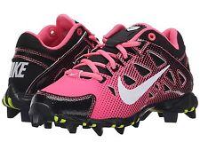 Nike Hyperdiamond Keystone Low Kids Youth Softball Cleats Pink/Black Girls' 13 C