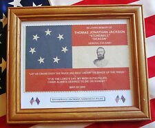 American Civil War Flag, 7 Star Southern Flag, Stonewall Jackson memorial Flag