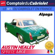 Capote Austin Healey Sprite MK4 cabriolet - Alpaga Stayfast® (1970/1971)