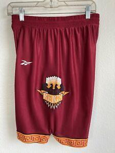 Vintage Reebok Seattle Reign ABL Women's Basketball Size M/L Red Shorts 90s