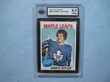 1975/76 TOPPS NHL HOCKEY CARD #150 DARRYL SITTLER NM/MINT+ KSA 8.5 SHARP+ 75/76