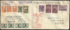 Zeppelin Peru 1932 9. Südamerikafahrt MiF Brasilien nach Berlin Si 196 B / 710